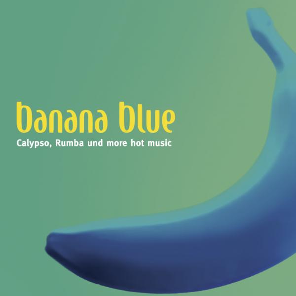 Banana Blue Postkarte