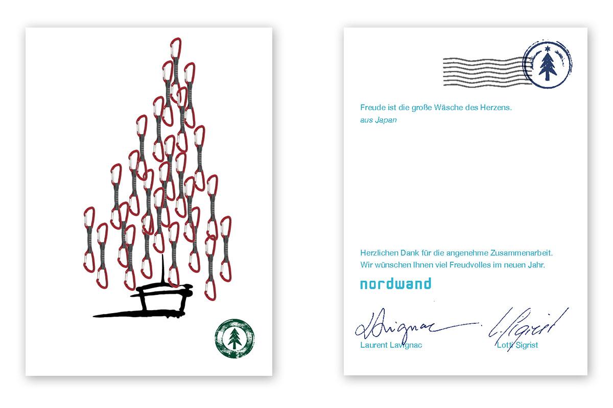 Nordwand Weihnachtskarte 2010