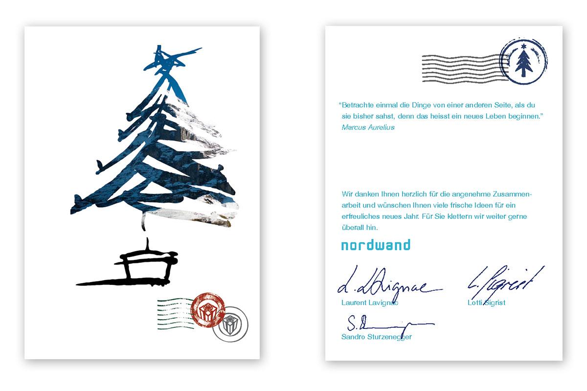 Nordwand Weihnachtskarte 2011