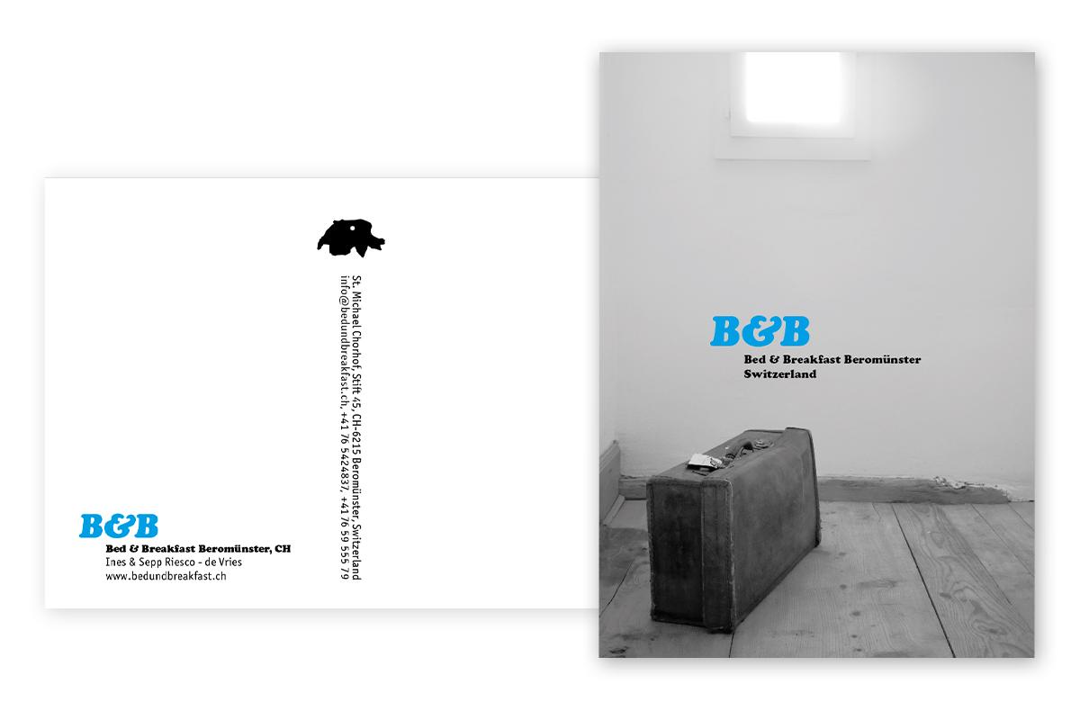 Postcard B&B Beromünster
