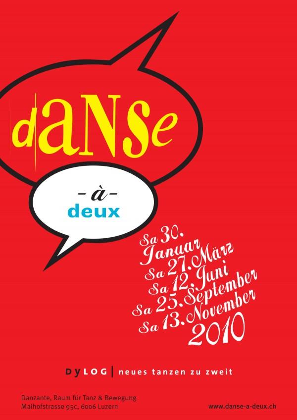 Poster Dance à deux