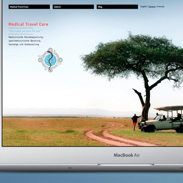 Medical Travel Care Website